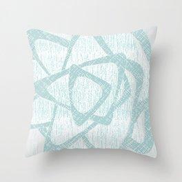 Brom blue Throw Pillow