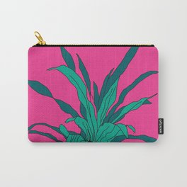 Bright pink potted plant Carry-All Pouch