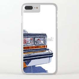 Hit the road Clear iPhone Case