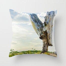 Stumpy Throw Pillow