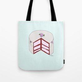 R O S E S  CAKE Tote Bag