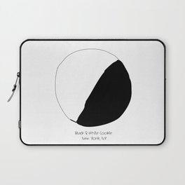 Black and White Cookie New York Laptop Sleeve