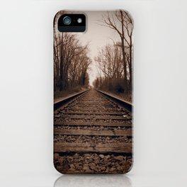 Train Tracks iPhone Case