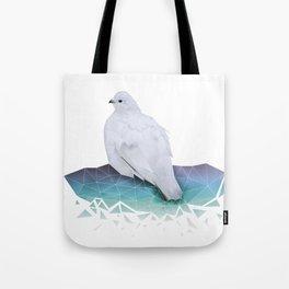 Riekko, Willow ptarmigan (with White Strokes) Tote Bag
