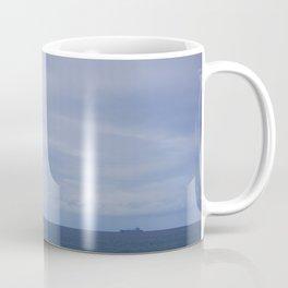 Ship on the ocean Coffee Mug