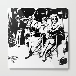 A FAMOUS BREAKFAST MOVIE SCENE FROM THE 1960'S Metal Print