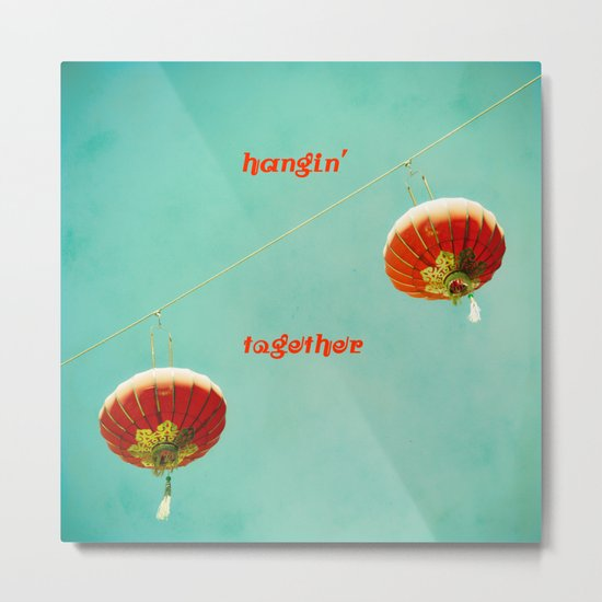Hangin' Together Metal Print