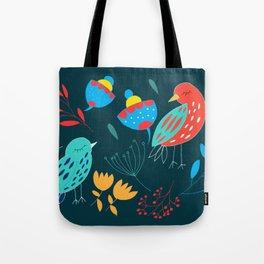 lovebirds I gift of spring I gift of spring Tote Bag