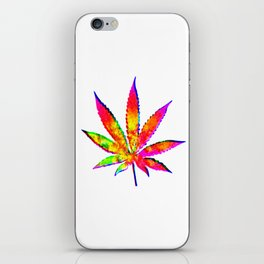 Cannabis Rainbow Design (32) iPhone Skin