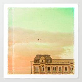 Fairy Tale Book (Retro and Vintage Urban, architecture photography) Art Print