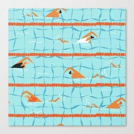 Swimming pool Canvas Print