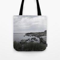religious Tote Bags featuring In the north by UtArt