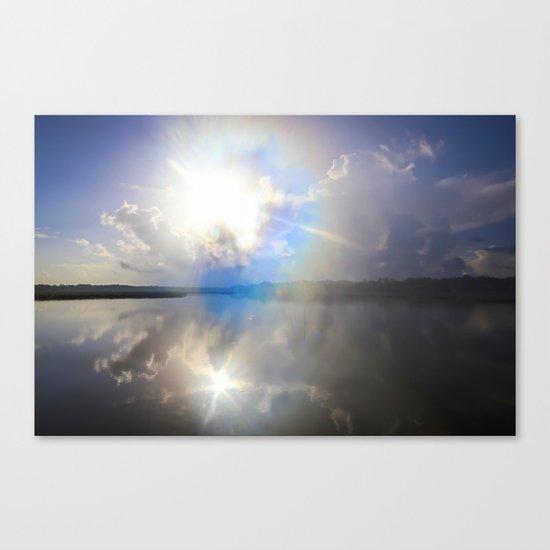 Power of Light Canvas Print