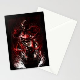 GOD and the Man Who Would Be GOD - Hannibal Stationery Cards