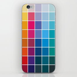 Colorful Soul - All colors together iPhone Skin