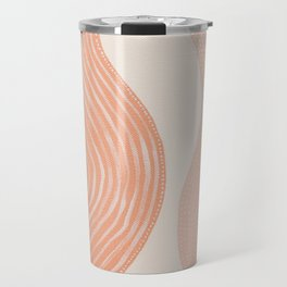 Abstract painting 7 - lines, shapes and dots Travel Mug