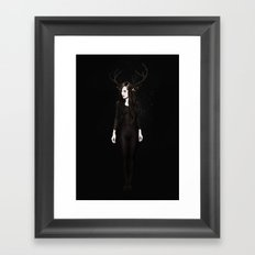Abigail Night Framed Art Print