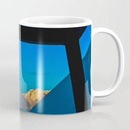 Alaska Winter Mountain Sunset Coffee Mug