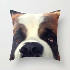 Happiness is My Dog Throw Pillow
