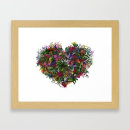 Wild at Heart Framed Art Print