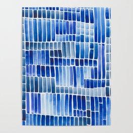 blue data Poster