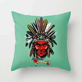 THE INDIAN SUMMER Throw Pillow