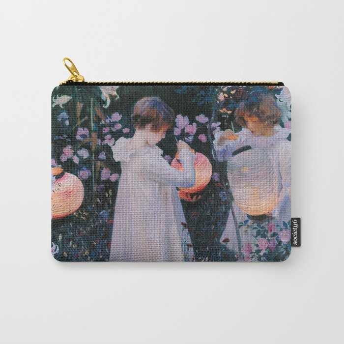 Carnation, Lily, Lily, Rose - John Singer Sargent Carry-All Pouch
