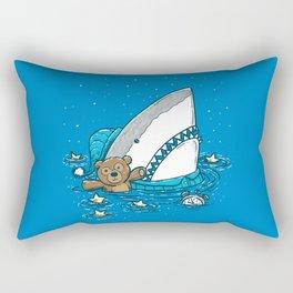 The Sleepy Shark Rectangular Pillow