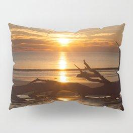 Sunrise with Driftwood Pillow Sham