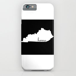 Kentucky State Map Home Gifts iPhone Case