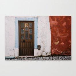 Door No 1 Canvas Print