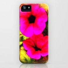 PETUNIAS iPhone (5, 5s) Slim Case