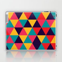 Colorful Triangles (Bright Colors) Laptop & iPad Skin