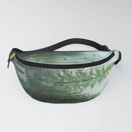 Mountain Morning 2 Fanny Pack