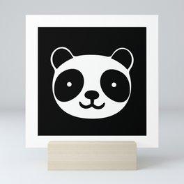 Racing Panda Mini Art Print