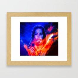 Yes, Jesus Loves Me ... By LadyShalene Framed Art Print