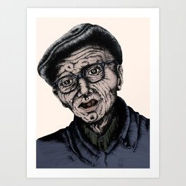 Grandpa Art Print