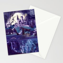 The Castle on the Hill Stationery Cards
