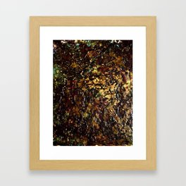 Encaustic Series - Mosaic Framed Art Print