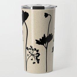 Dark Shadow Butterfly Garden Travel Mug