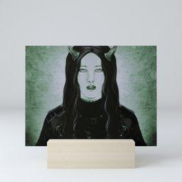 Lament of the Demon Mini Art Print