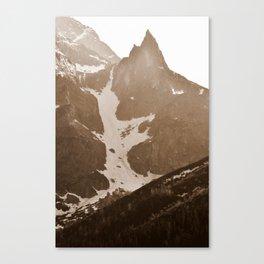 Snowy Peak Canvas Print