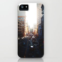 The way I see it is, We live in a rainbow of chaos iPhone Case