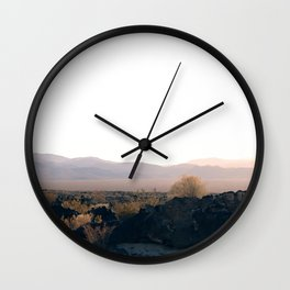 She Writes Songs About the Desert Wall Clock