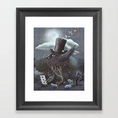 The Magician's Hat  Framed Art Print