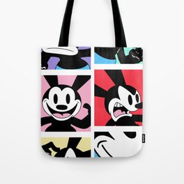 Oswald the Lucky Rabbit: Faces Tote Bag