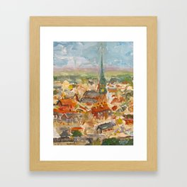 The First of May in Rīga, Latvia Framed Art Print
