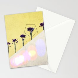 Levitated Mass (Yellow) Stationery Cards