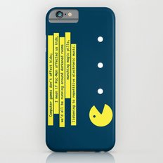 Computer Games Don't Affect Kids iPhone 6s Slim Case