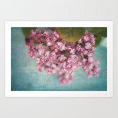 sweet lilacs Art Print
